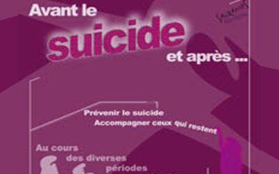 Colloque 2013 – Avant le suicide, et après…