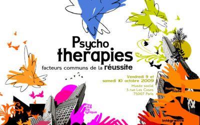 Colloque 2009 – Psychothérapies, facteurs communs de la réussite