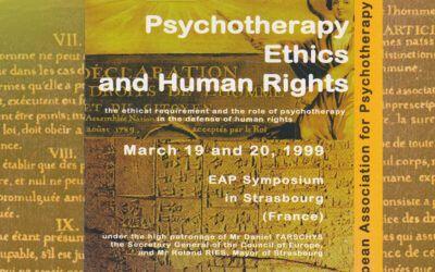 Symposium de l'EAP – Psychothérapie, éthique et droits de l'Homme