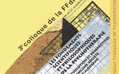 Colloque 2000 – Les fondements scientifiques et philosophiques de la psychothérapie