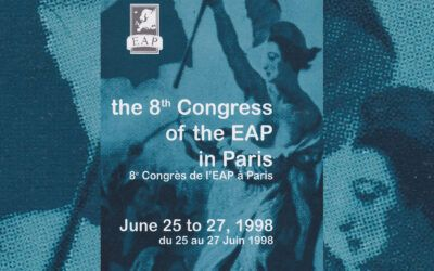 8e congrès de l'EAP – Dourdan, 1998