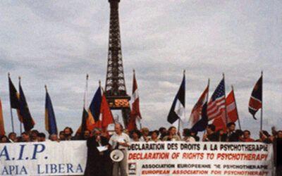 1998 – Déclaration des droits à la psychothérapie